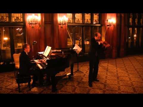 David Yonan and Steve Greene- Paganini Caprices with Robert Schumann Accompaniment