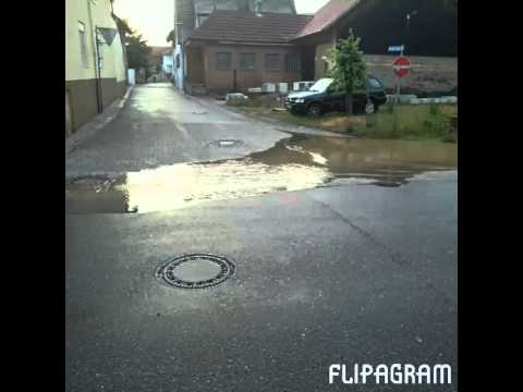 Hochwasser Bretten