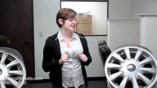 Tiburon Rims & Accent Wheels - Video of Tiburon Factory, Original, OEM, stock new & used rim Co.