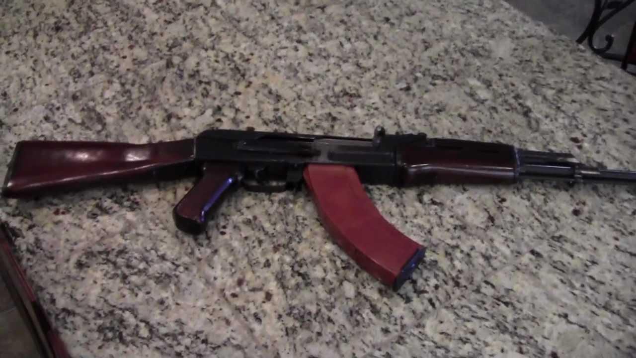 Polytech Legend AK-47 Fixed Stock - YouTube