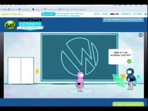 Webonauts Internet Academy