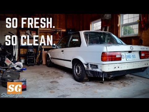 Making Room for the E30 BMW - Garage Clean-up