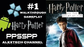 Harry Potter and the Goblet of Fire #1 -PSP Game Walkthrough On Android
