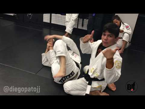 Diego Pato - DLR to leg drag - bjj technique