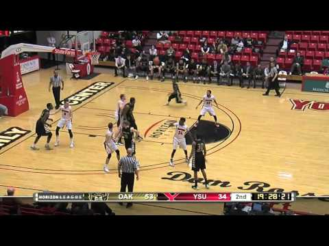Highlights from the YSU vs Oakland Mens Basketball game | February 4, 2016