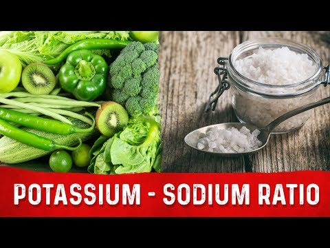 Your Potassium Sodium Ratio Should Be 4:1