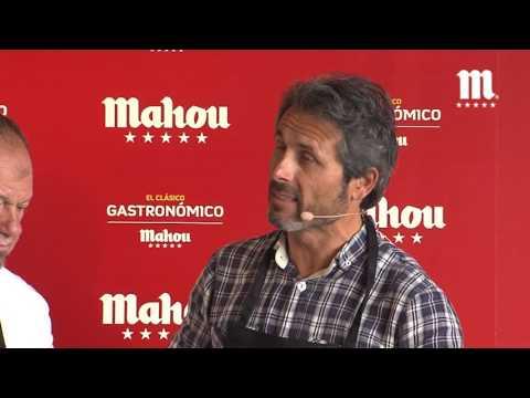 Fútbol Mahou | Clásico Gastronómico con Rafael Alkorta y Lobo Carrasco