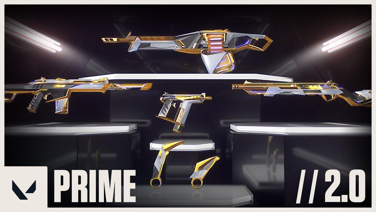 Official Prime 2.0 Skin Reveal Trailer - VALORANT - YouTube