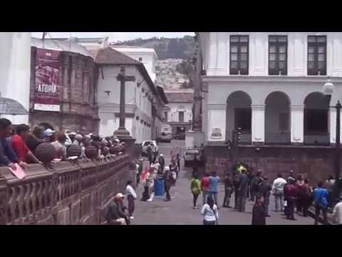 Quito, Ecuador  -  Changing of the Guard - 2 - Marching Band