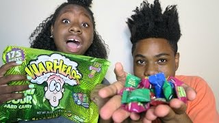 WARHEAD CHALLENGE WITH MY BROTHER