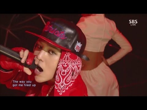 G-DRAGON_1006_SBS Inkigayo_R.O.D(ft. Lydia Paek)