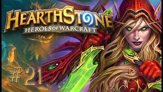 Hearthstone - Quest Rogue vs Druid #21