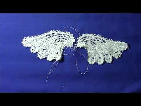 6f40c4d0e715e Irish Crochet lace, Butterfly from Priscilla no 2, part 4