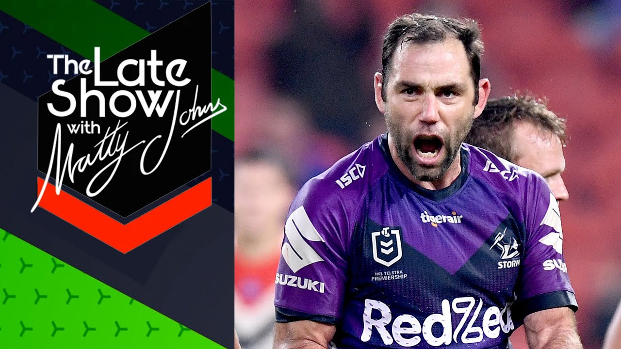 'That's as good a it gets' Cam Smith reacts to win over the Roosters | The Late Show