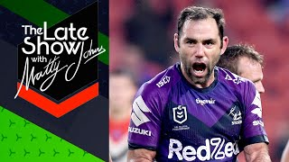 'that's As Good A It Gets' Cam Smith Reacts To Win Over The Roosters   The Late Show