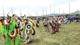 TAOS PUEBLO POW WOW 2019 DAY 2  -  Intertribal Saturday Morning - HeartBeat Taos Drum