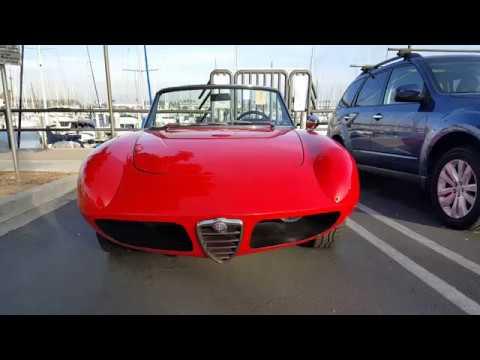 Spectacular 1967 Alfa Romeo Duetto Spider Convertible