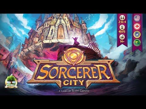Sorcerer City Kickstarter Campaign