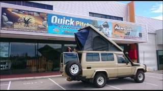 Alu-Cab Troopy Roof Conversion