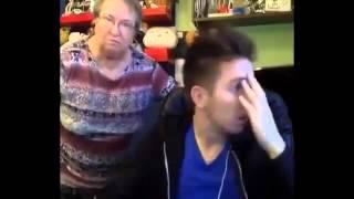 Покажи киску!!!Бабушка дала жару!!!