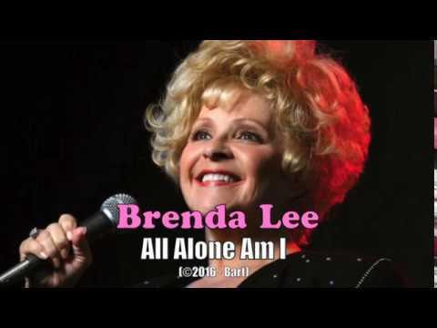 Brenda Lee - All Alone Am I (Karaoke)