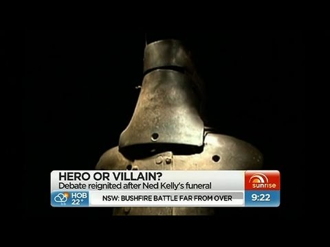 ned kelly hero or villian Ned kelly was a villain he killed many cops and robbed many towns essays related to ned kelly hero or vilain 1 the mistery of ned kelly.