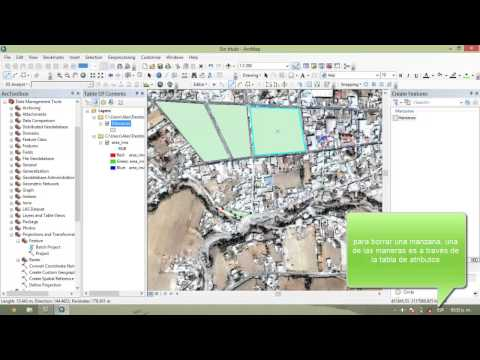 Creacion de Shapefile y cómo digitalizarlo/Create a Shapefile and how to digitize? ArcGIS 10.2
