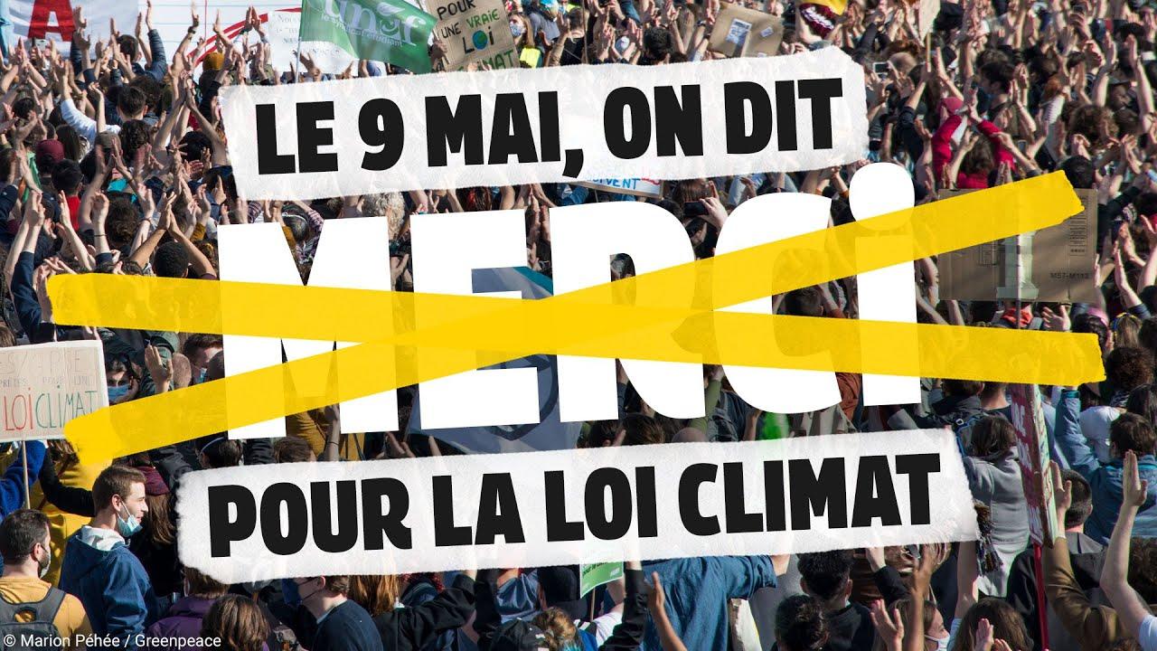 Loi climat : merci mais NON MERCI !