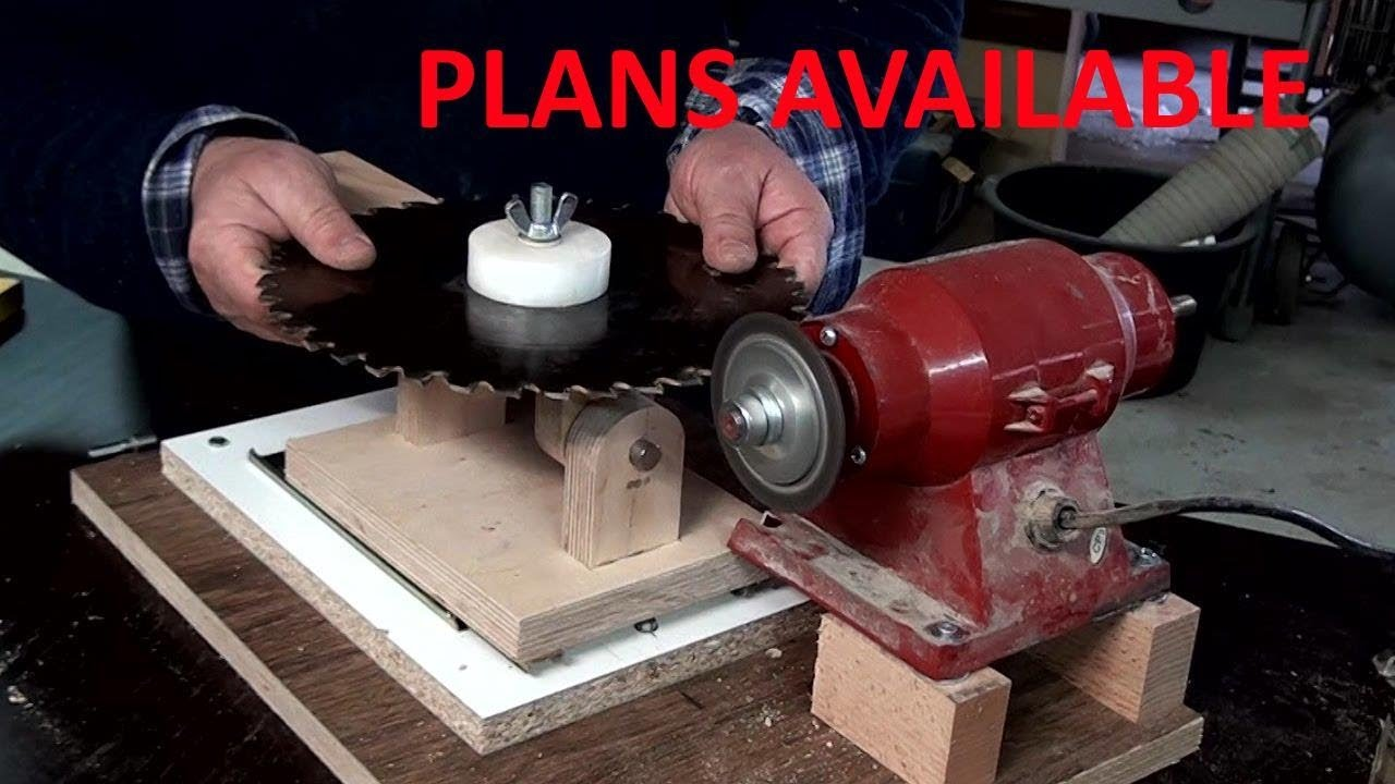 Table Saw Blades Sharpening Jig