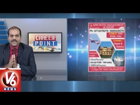 Hotel Management Course | AIMS Hotel Management Academy | Career Point | V6 News