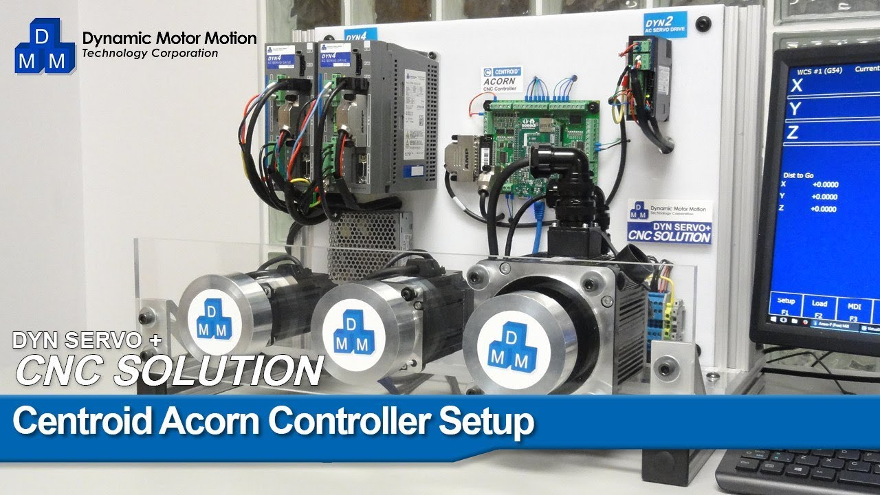 Centroid Acorn Setup Video