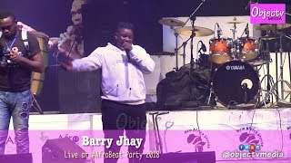 Barry Jhay - Aiye at Shrine #Afrobeat Party 2018 #FelaLives