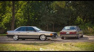 B2 Audi 90 & C3 Audi 100 turbo quattro(1985 Audi 90 B2 by Zając 1987 Audi 100 C3 by Szydło., 2016-12-04T16:30:11.000Z)