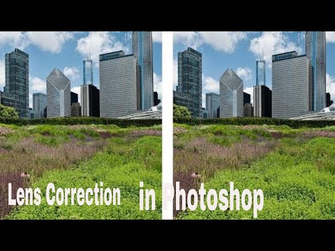 How To Correct Lens in Photoshops ACR|Photoshop Tutorial thumbnail
