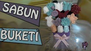Sabun Buketi Nasıl Yapılır? (How to make a bouquet soap) - kokulubuket.com