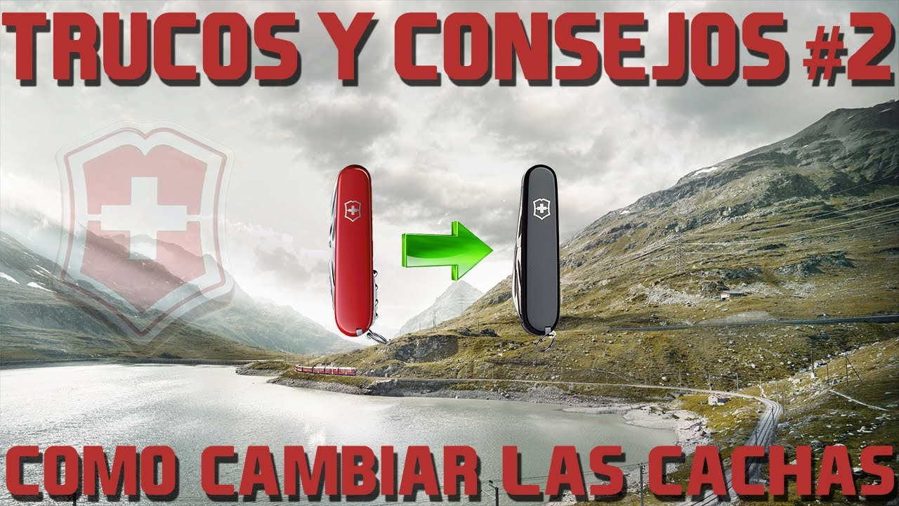 Victorinox Tips Cambiar Cachas How To Remplace Scales