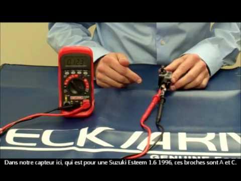 Detroit Wiring Diagram Throttle Position Sensor Youtube