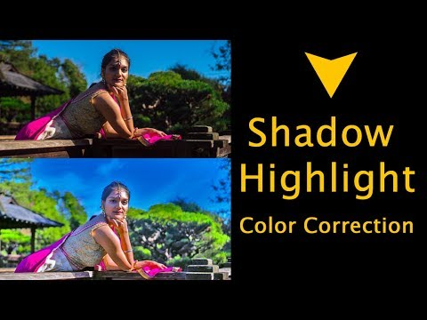 Color Correction in Photoshop Hindi tutorial thumbnail