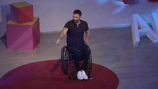 The mosaic of a Paralympic athlete | Antonis Tsapatakis | TEDxAUEB