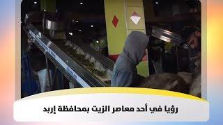 رؤيا في أحد معاصر الزيت بمحافظة إربد