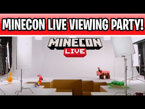 Minecon Live Viewing Party! Biome Vote & 1.15 Nether Update Reveal!