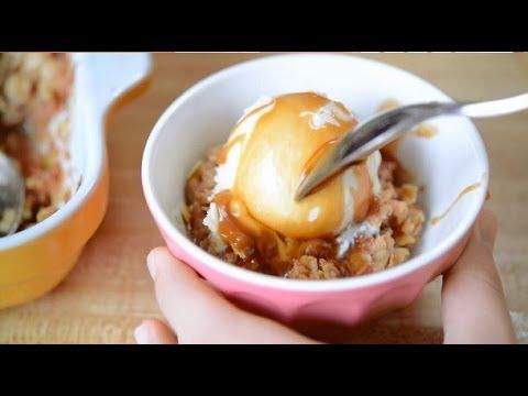 Caramel Apple Crisp Recipe - Easy Fall Dessert