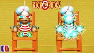 АНТИСТРЕСС ПРОТИВ ЭЛЕКТРИЧЕСКОГО СТУЛА! Уничтожь любым способом - Kick the Buddy