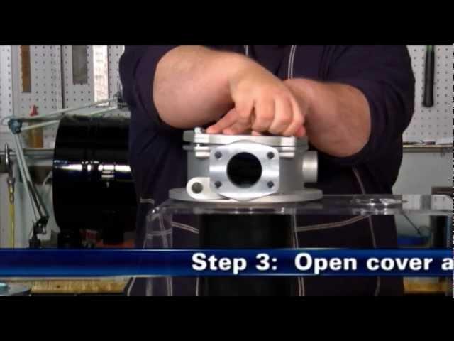 Donaldson Hydraulic Filter Servicing
