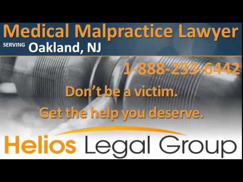 Oakland Medical Malpractice Lawyer & Attorney - New Jersey