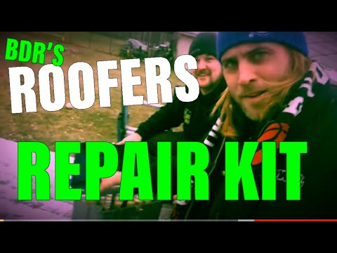 Best Damn Roofer repair kit