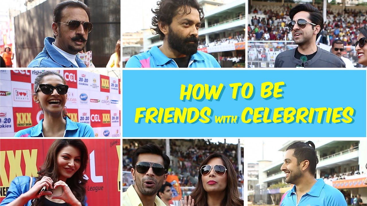 How to Be Friends With Celebrities