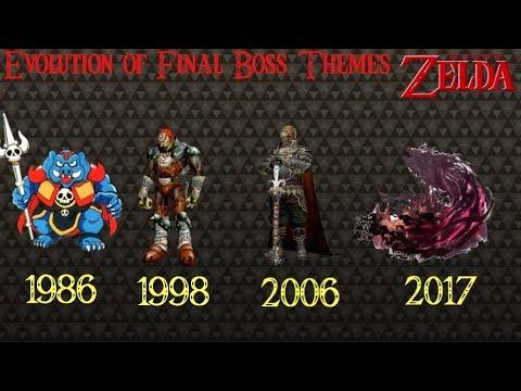 Evolution Of Final Boss Themes 1986 2017 The Legend Of Zelda