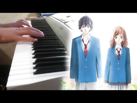 Ao Haru Ride [アオハライド] - When Our Eyes Met (Episode 3 BGM Piano) 好きな人だけに ピアノ