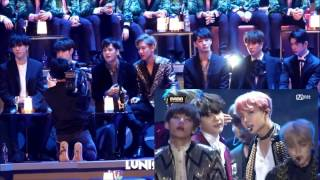 Got7 full reaction to BTS at MAMA 2016